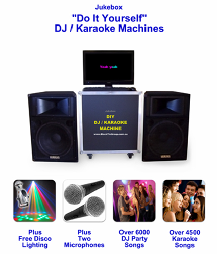 karaoke jukebox brisbane